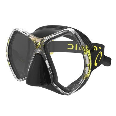 Oceanic Cyanea Mask Black/Yellow