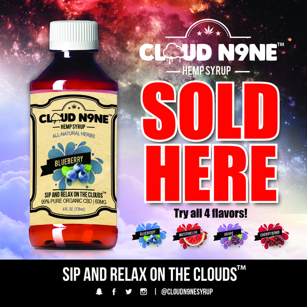 Cloud N9ne Syrup - Better For You Than Your Favorite Drink!