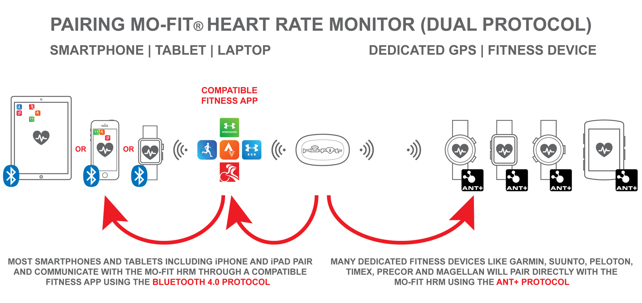 Mo-Fit® Heart Rate Monitor - Pairing | Sync - HELP – Engine