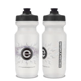 NGN Sport – High Performance Bike Water Bottles – 21 oz | Clear & Gray (2-Pack)