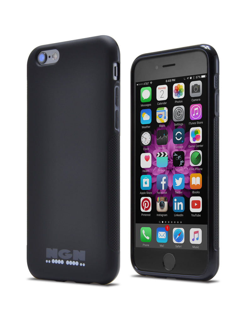 Slim-Fit Ultra-Grip TPU Case for iPhone® 6 and 6s / Matte Black