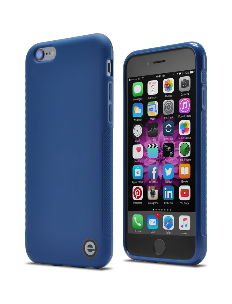 Slim-Fit Ultra-Grip TPU Case for iPhone® 6 and 6s / Indigo Blue