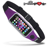 Mo-Fit® Waist Pack / Running Belt for iPhone, Android and most Smartphones | Purple