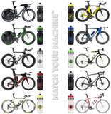 NGN Sport – High Performance Bike Water Bottles – 24 oz | Black & Yellow (2-Pack)