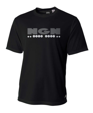 Men's Flash-Dri™ Cooling Performance Crew Neck Tech Tee | Black