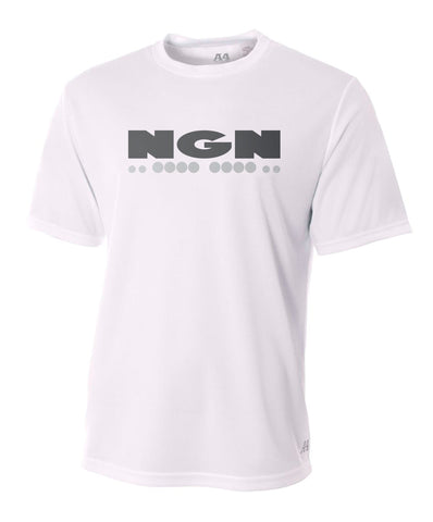 Men's Flash-Dri™ Cooling Performance Crew Neck Tech Tee | White