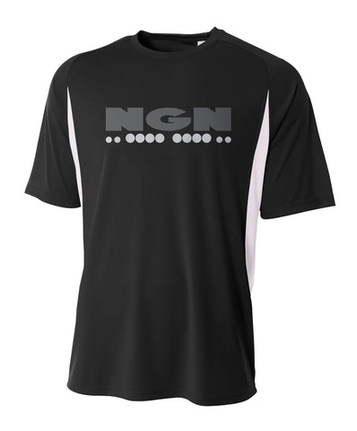 Men's Slim-Tech™ Cooling Performance Sport Tee | Black