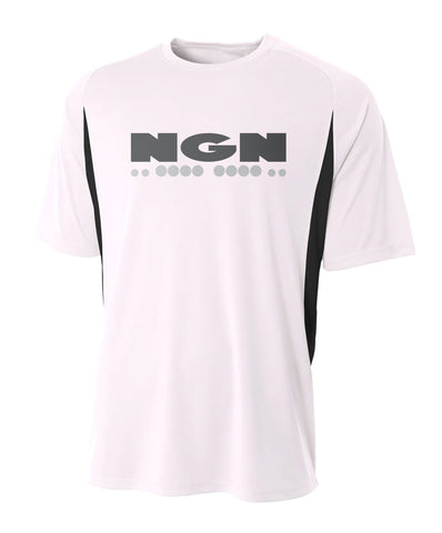 Men's Slim-Tech™ Cooling Performance Sport Tee | White