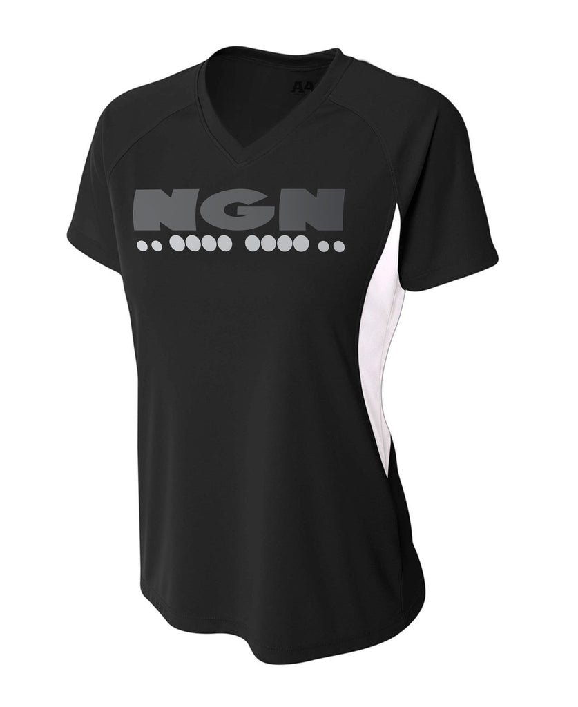 Women's Slim-Tech™ Cooling Performance Sport Tee | Black