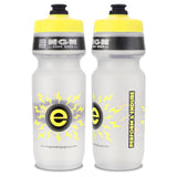 NGN Sport – High Performance Bike Water Bottles – 24 oz | Clear & Yellow (2-Pack)