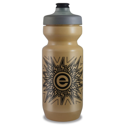 eNGNe - Purist Water Bottle | Premium Bike Water Bottle with Watergate Cap - 22 oz | Gold Iridescent (1-Pack)
