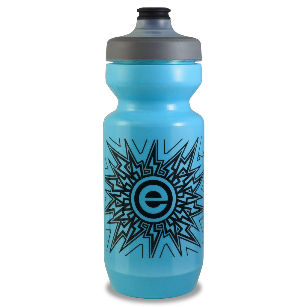 NGN Sport - Purist Water Bottle | Premium Bike Water Bottle with Watergate Cap - 22 oz | Blue Iridescent (1-Pack)