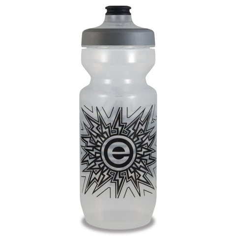 NGN Sport - Purist Water Bottle | Premium Bike Water Bottle with Watergate Cap - 22 oz | Clear (1-Pack)