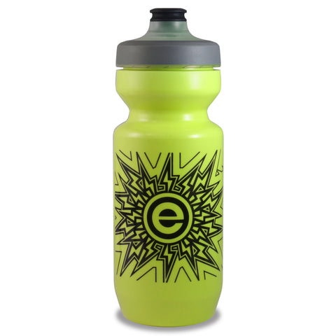 NGN Sport - Purist Water Bottle | Premium Bike Water Bottle with Watergate Cap - 22 oz | Lemon Lime (1-Pack)