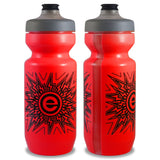 NGN Sport - Purist Water Bottle | Premium Bike Water Bottle with Watergate Cap - 22 oz | Red (1-Pack)