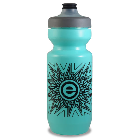 NGN Sport - Purist Water Bottle | Premium Bike Water Bottle with Watergate Cap - 22 oz | Turquoise (1-Pack)