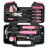 Apollo Precision Tools DT9706P 39-Piece Pink General Tool Set