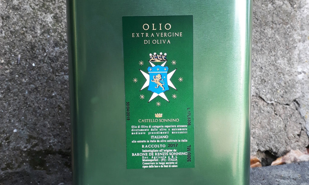 Castello Sonnino, Cold Pressed Extra Virgin Olive Oil 2019