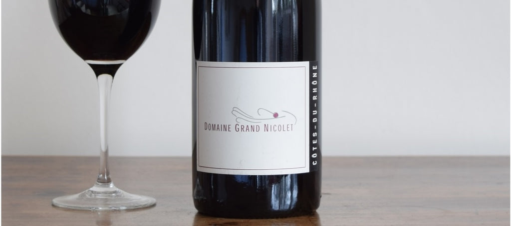 Domaine Grand Nicolet, Cotes du Rhone, France 2015