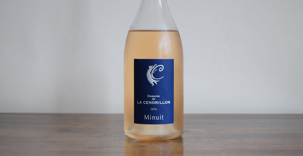 Domaine de La Cendrillon 'Minuit' Rose, Corbieres, France 2016
