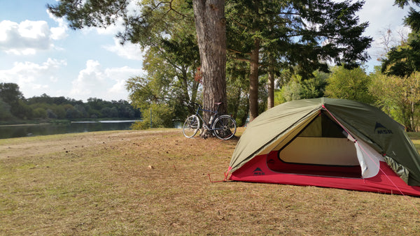 Camping by the Loire
