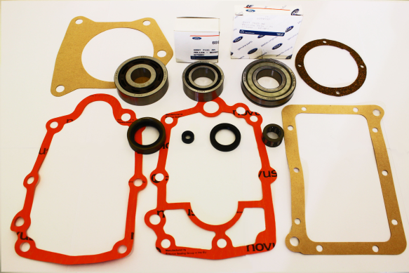 FORD CAPRI TYPE 9 GEARBOX BEARING, GASKET & OIL SEAL REBUILD REPAIR KIT SET