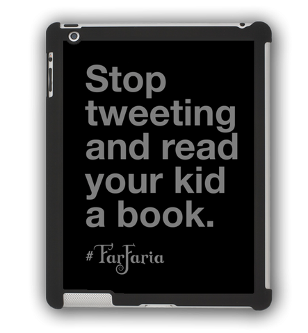 Stop Tweeting iPad Case