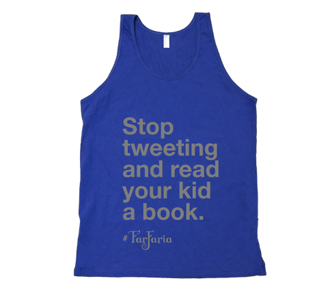 Stop Tweeting - Adult Tank