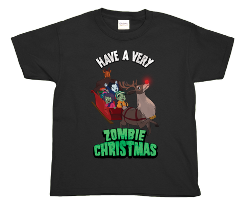 Zombie Christmas T (Limited Edition) - Black