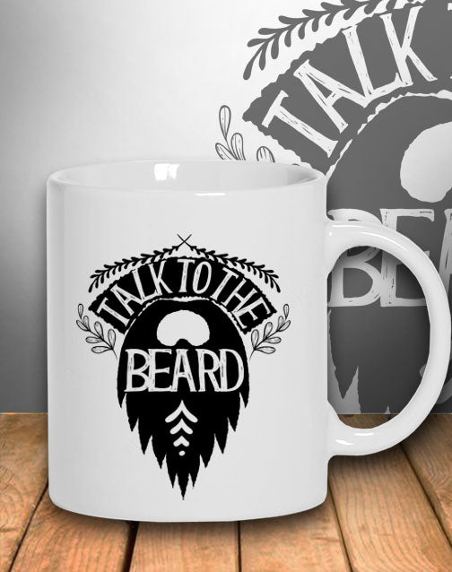 MUG - Talk To The Beard