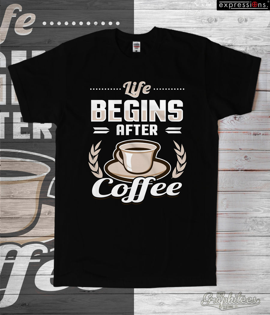 E-002 Life Begins After Coffee - The Graphitees