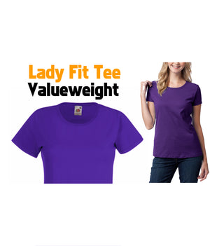LADY FIT VALUEWEIGHT TEE