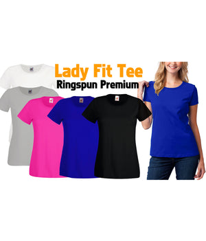 LADY FIT RINGSPUN