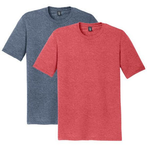 District - Mens Perfect Tri Crew Tee - The Graphitees