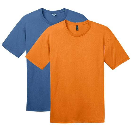 District - Mens Perfect Weight Crew Tee - The Graphitees