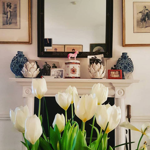 Home with Tulips