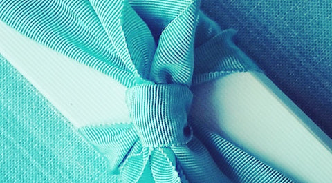 Blue Bowl ribbon