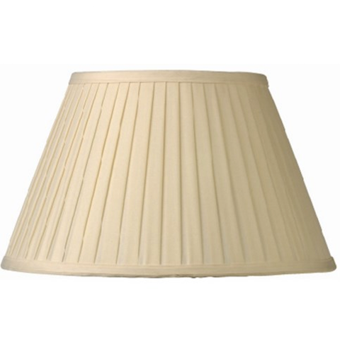 Cream Silk Lampshade