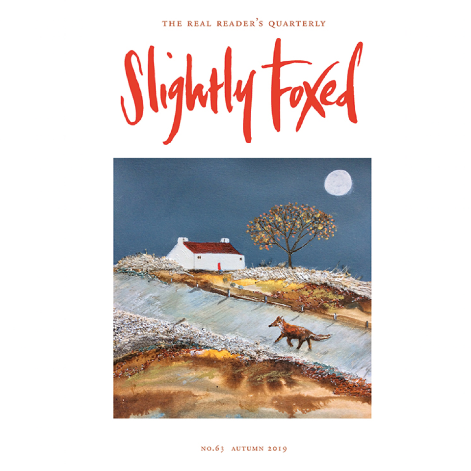 Slightly Foxed Quarterly Subscription - Blue Bowl