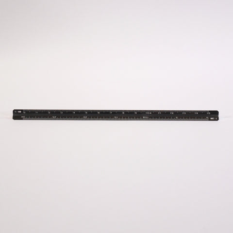 Aluminum Architechts Ruler - Blue Bowl