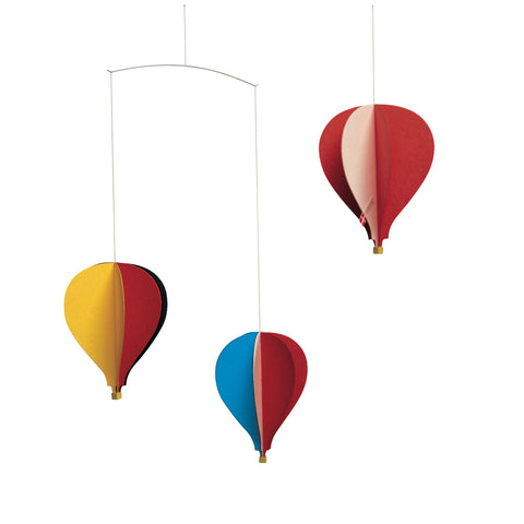 Hot Air Balloon Mobile - Blue Bowl