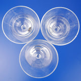Liqueur Plain Glasses - Blue Bowl
