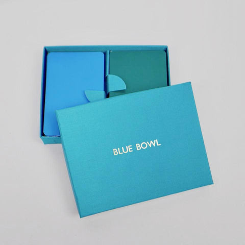 Bespoke Playing Cards - Blue Bowl