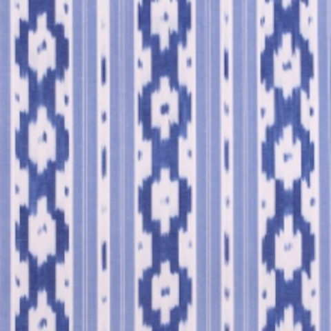 Ikat by the metre - Blue Bowl