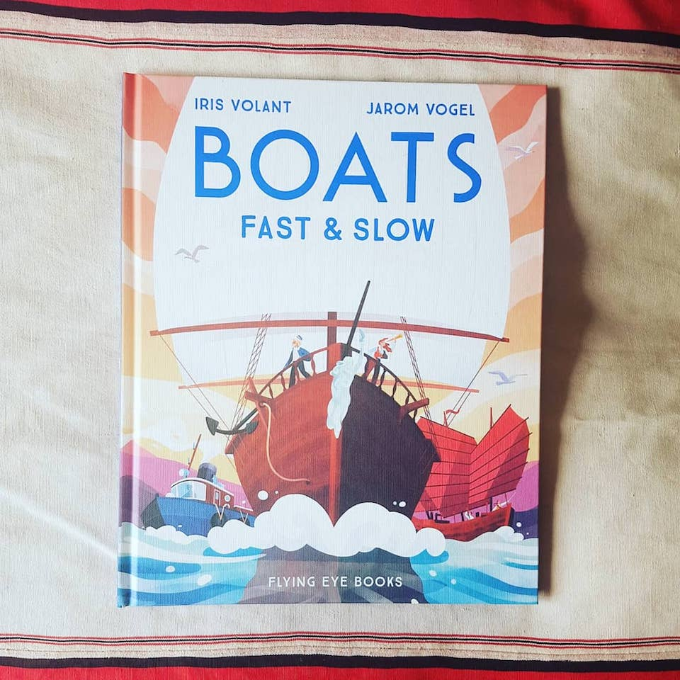 Boats Fast & Slow by Iris Volant - Blue Bowl