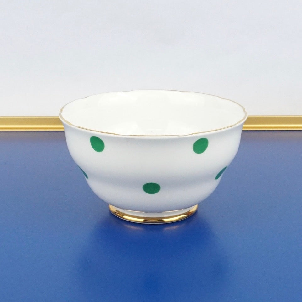 Green Spotty China