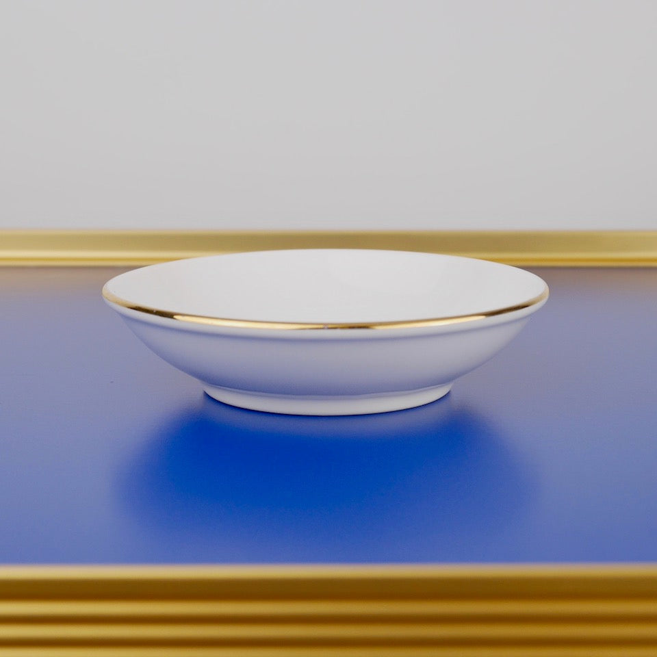 Good Luck Dipping Bowl - Blue Bowl