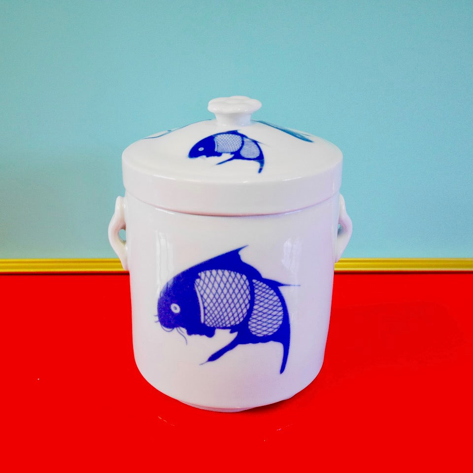 Fish Jar - Blue Bowl
