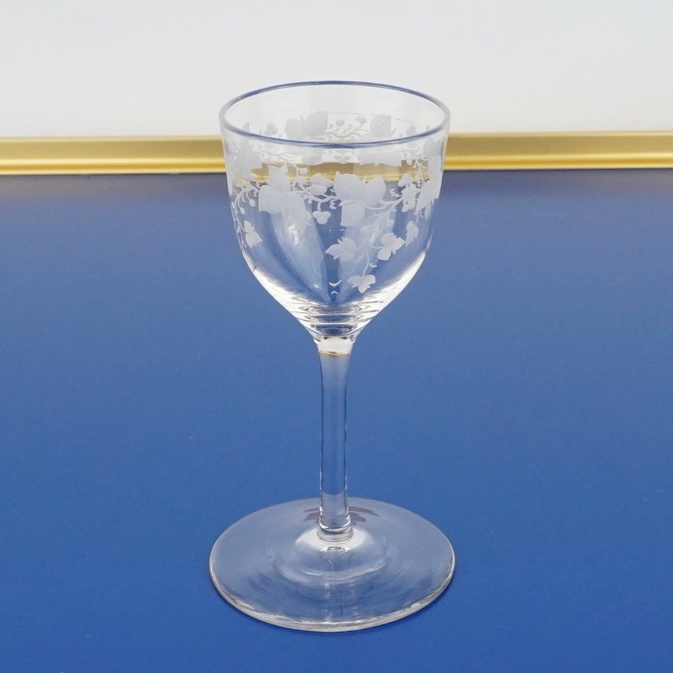 Set of Ten Digestif Glasses