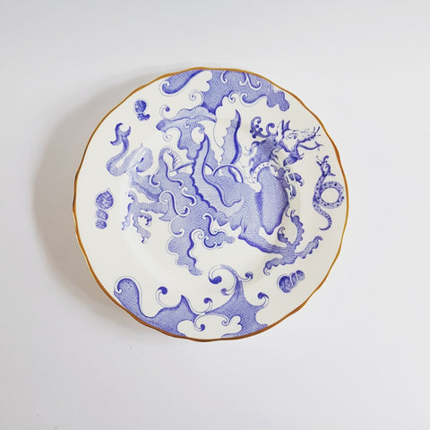 Royal Worcester Dragon Breakfast Plate